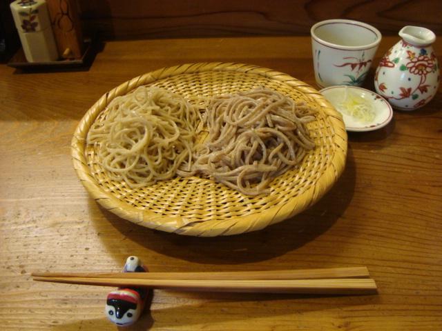 神楽坂「巽蕎麦 志ま平」へ行く。_f0232060_18341646.jpg