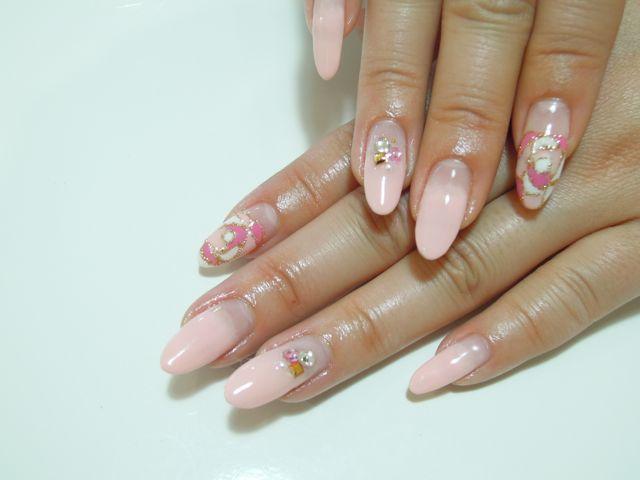 Pickup Nail~Pink_a0239065_1024118.jpg
