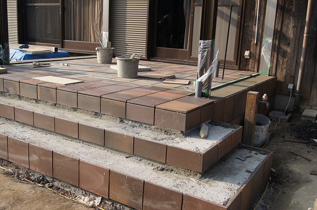 庭の工事 10_e0181373_21231820.jpg