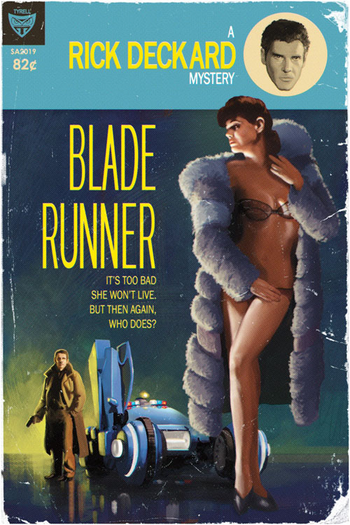 Blade Runner Pulp Cover by Tim Anderson_c0155077_17293343.jpg