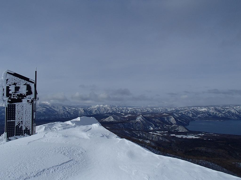 1月28日、樽前山-その2-_f0138096_12373135.jpg
