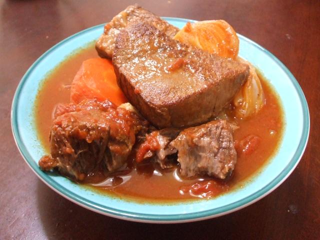 牛肉の赤ワイン煮_f0019498_19553171.jpg