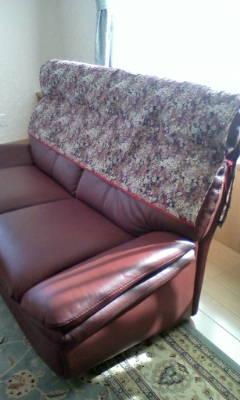 手作りのソファーカバーが出来ました。_d0026905_13265456.jpg
