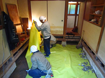 ある鎌倉の小さな家の小さなリフォーム その6_c0195909_115497.jpg
