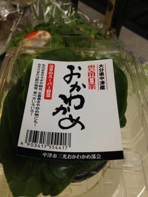 ++おかわかめって海藻?野菜???++_e0140921_2051125.jpg