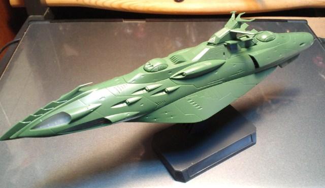 ガミラス艦セット  ケルカピア級 航宙高速巡洋艦_d0009833_23122030.jpg