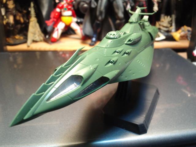 ガミラス艦セット  ケルカピア級 航宙高速巡洋艦_d0009833_23122880.jpg