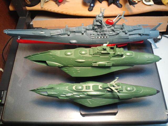 ガミラス艦セット  ケルカピア級 航宙高速巡洋艦_d0009833_23125054.jpg
