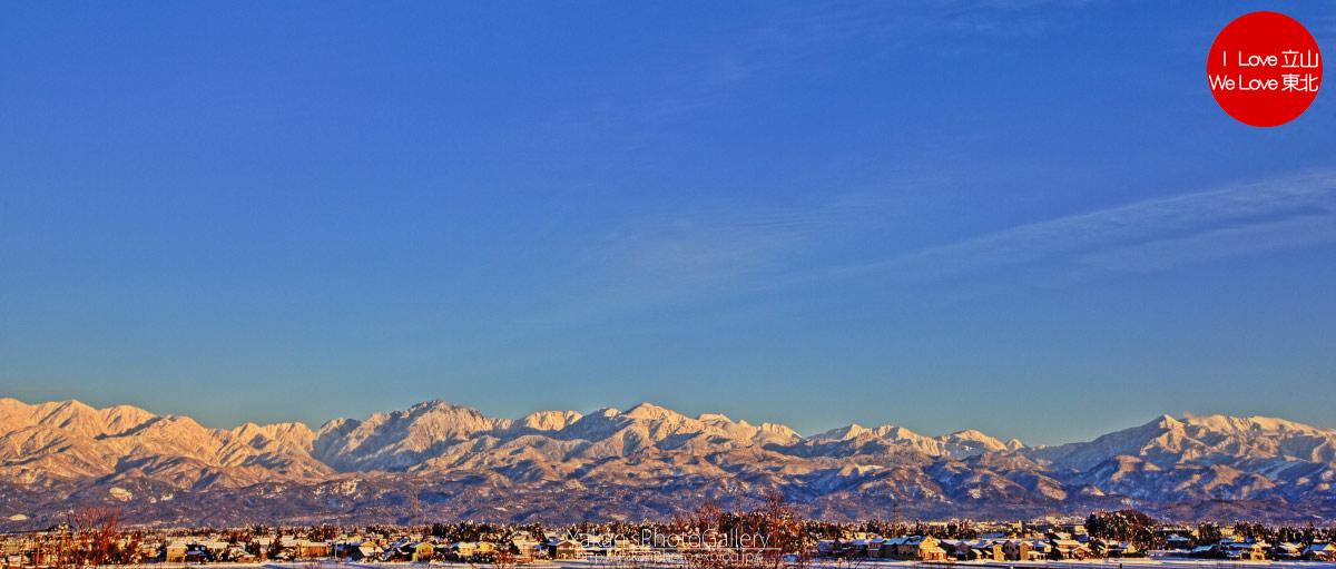 立山連峰夕景 (立山連峰の山の名前とHDR)_b0157849_17511531.jpg