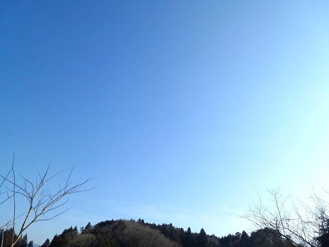 こんなに青い空なのに・・・(^_-)_c0165589_15192672.jpg