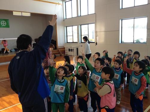 2013.1.21 金足西幼児園・上新城幼児園_e0272194_13122833.jpg