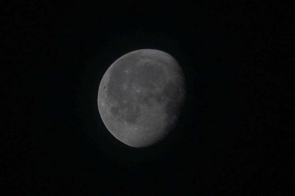 今日はこれ一枚だけ/今日のMF/今朝の月と富士のコラボ_b0024798_17144060.jpg