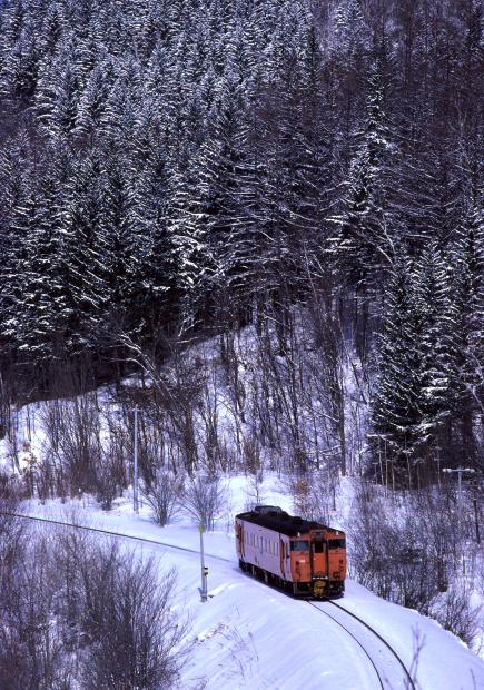 雪の日のタラコ - 1986年・石北本線 -   _b0190710_1153775.jpg