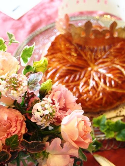 紅茶教室TEA MIEでガレット・デ・ロワの会_d0104926_6544657.jpg