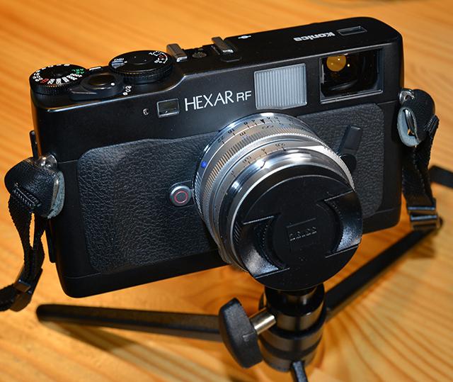 ひょんなことから、ヘキサーRFを手に入れてしまった。もちろんフィルムカメ... ヘキサーRF基本