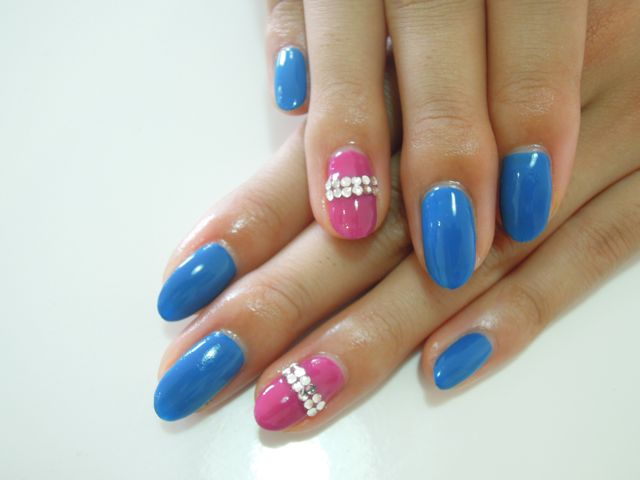 Royal Bule Nail_a0239065_16212049.jpg