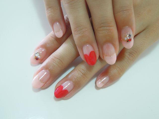 Pickup Nail〜Pink_a0239065_16232542.jpg