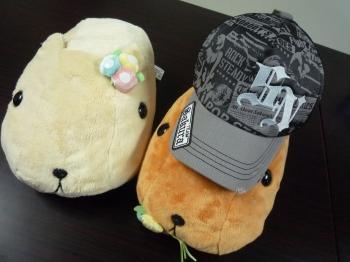 帽子が出来ましたっ☆_d0174765_1745751.jpg