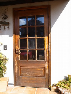 木製玄関ドア・アルミ既製品玄関ドア_f0059988_19123073.jpg