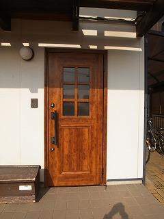 木製玄関ドア・アルミ既製品玄関ドア_f0059988_19125739.jpg