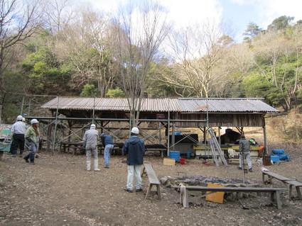 屋根の葺き替え  by (ナベサダ)_a0162837_21474614.jpg