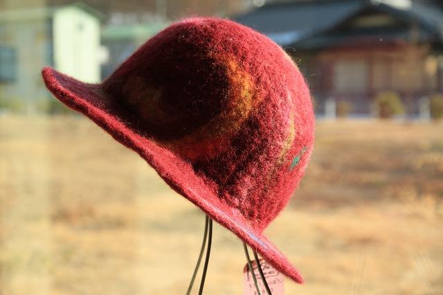 みずがき湖でフェルト帽子を・・・_b0100253_15242671.jpg