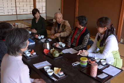 1/28(月)清閑亭 あしがら茶講座がスタートしました!_c0110117_1642451.jpg