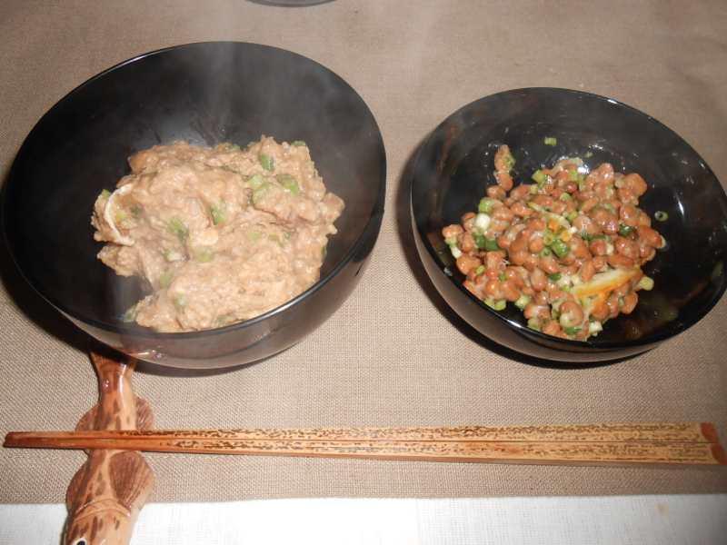 禅僧のような朝ご飯と昼ご飯_a0095931_12472976.jpg