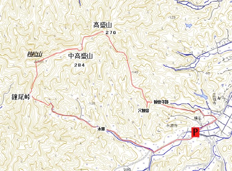 独松山(横手から周回  雪は全く無かった)_b0156456_21145283.jpg
