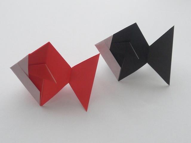クリスマス 折り紙 折り紙 金魚 : divulgando.net