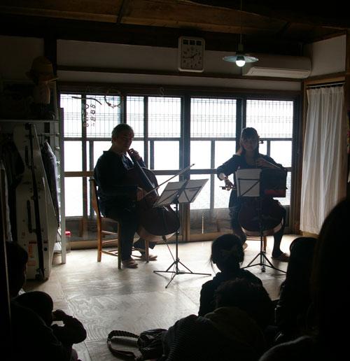 cello duo ミニコンサート♪ 後記_a0162603_18473846.jpg