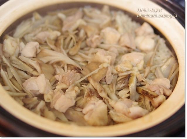 鶏ごぼう舞茸の炊き込みご飯_f0179404_22323332.jpg