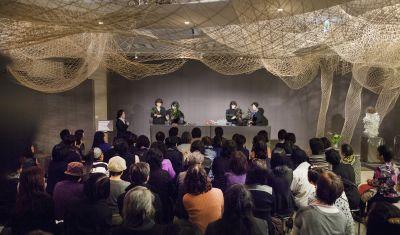東海東京証券プレミア美術展 いけばな草月LIVE_c0165824_11384742.jpg