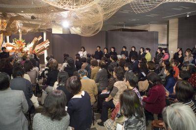 東海東京証券プレミア美術展 いけばな草月LIVE_c0165824_1139716.jpg