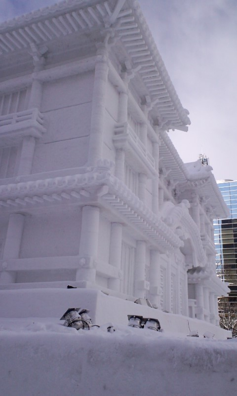 札幌雪祭り開催中_f0115440_1842645.jpg