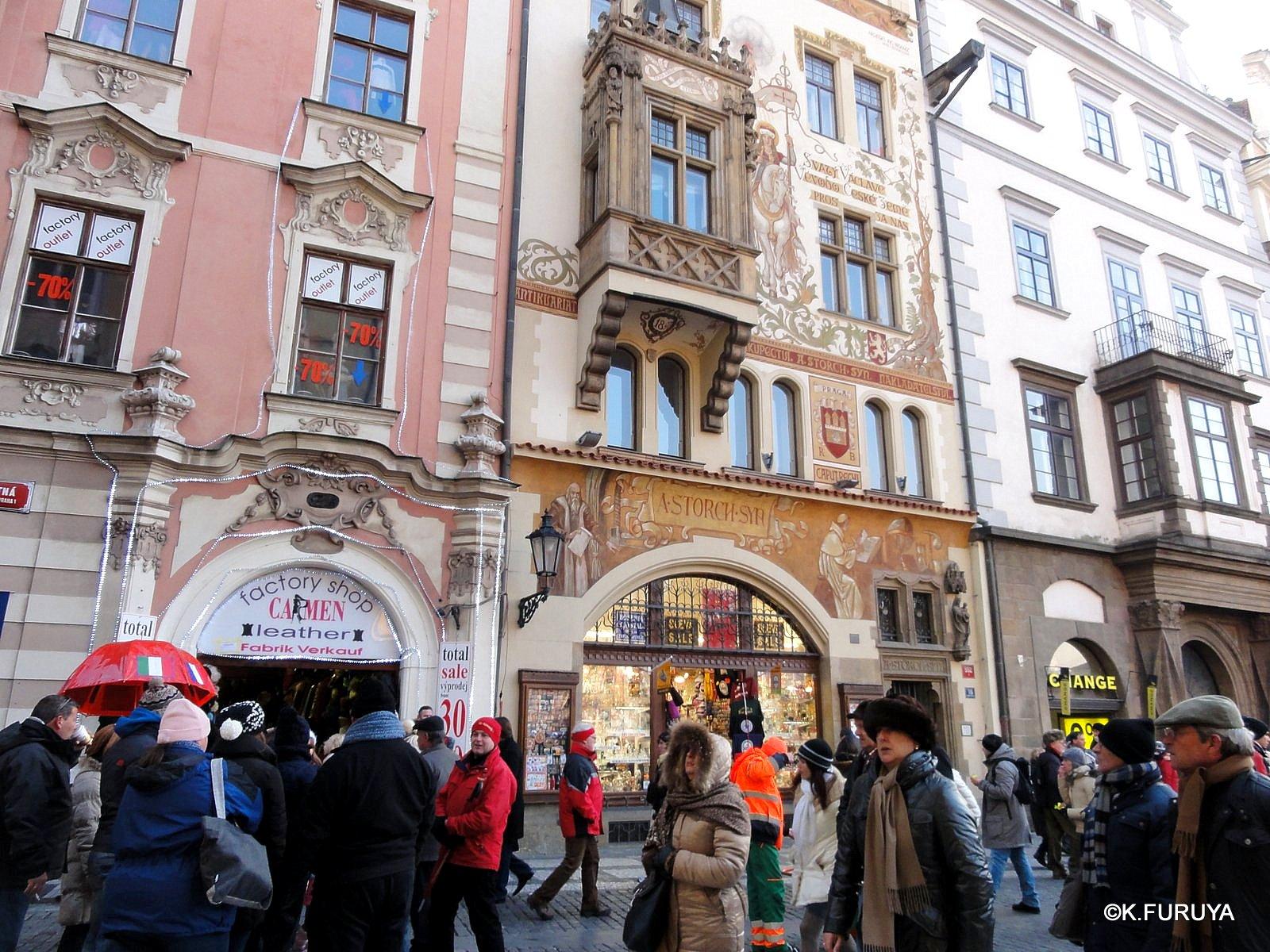 プラハ 9  旧市街広場_a0092659_21284824.jpg