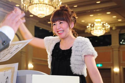 【brace】2013年新年会 4.表彰式Ⅱ優秀賞、敢闘賞など_c0080367_1834829.jpg