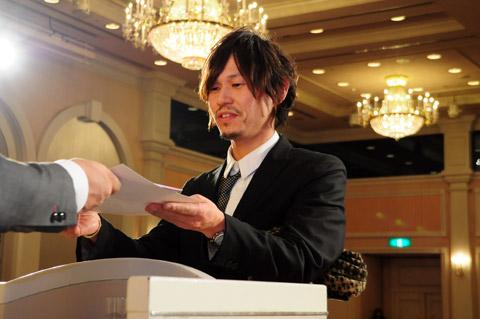 【brace】2013年新年会 4.表彰式Ⅱ優秀賞、敢闘賞など_c0080367_18422962.jpg