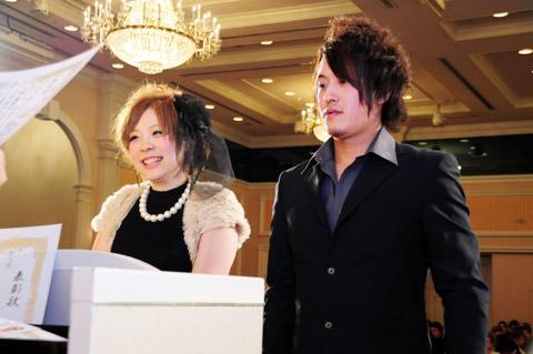 【brace】2013年新年会 4.表彰式Ⅱ優秀賞、敢闘賞など_c0080367_1845559.jpg