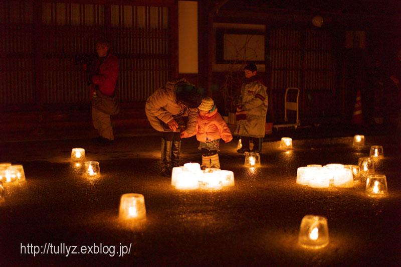 奈良井宿のアイスキャンドル祭り (5)_d0108132_23375955.jpg
