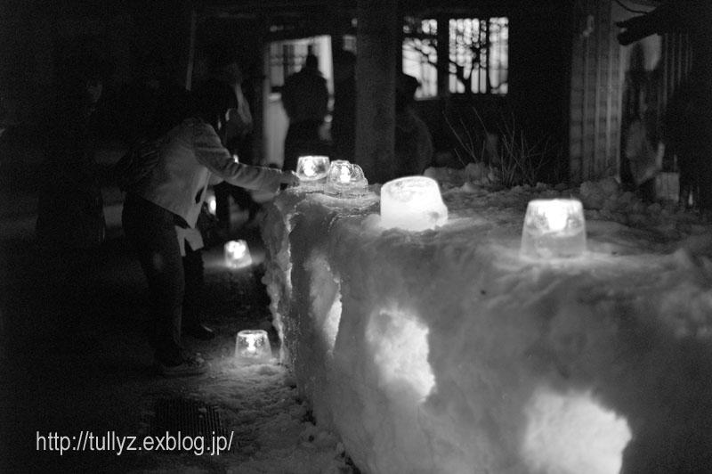 奈良井宿のアイスキャンドル祭り (11)_d0108132_2344719.jpg