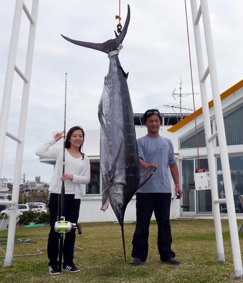 宜野湾のチャーター フィッシャーズクラブ沖縄さんのキャッチ情報、No.2です。_f0009039_10333794.jpg