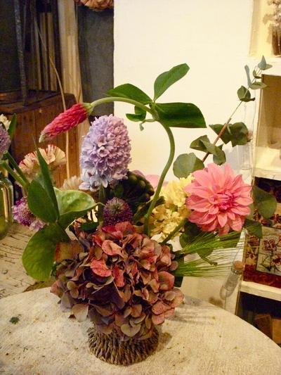 かわいい芸術家・春の花あしらいVol.2。。。_a0229658_15372640.jpg
