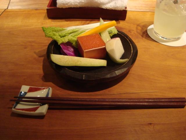 渋谷「食幹 (しょっかん)」へ行く。_f0232060_1581377.jpg
