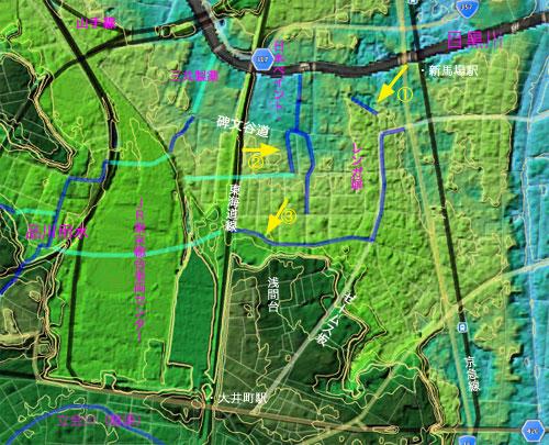 品川用水流末の断片と点在する赤煉瓦_c0163001_0133548.jpg