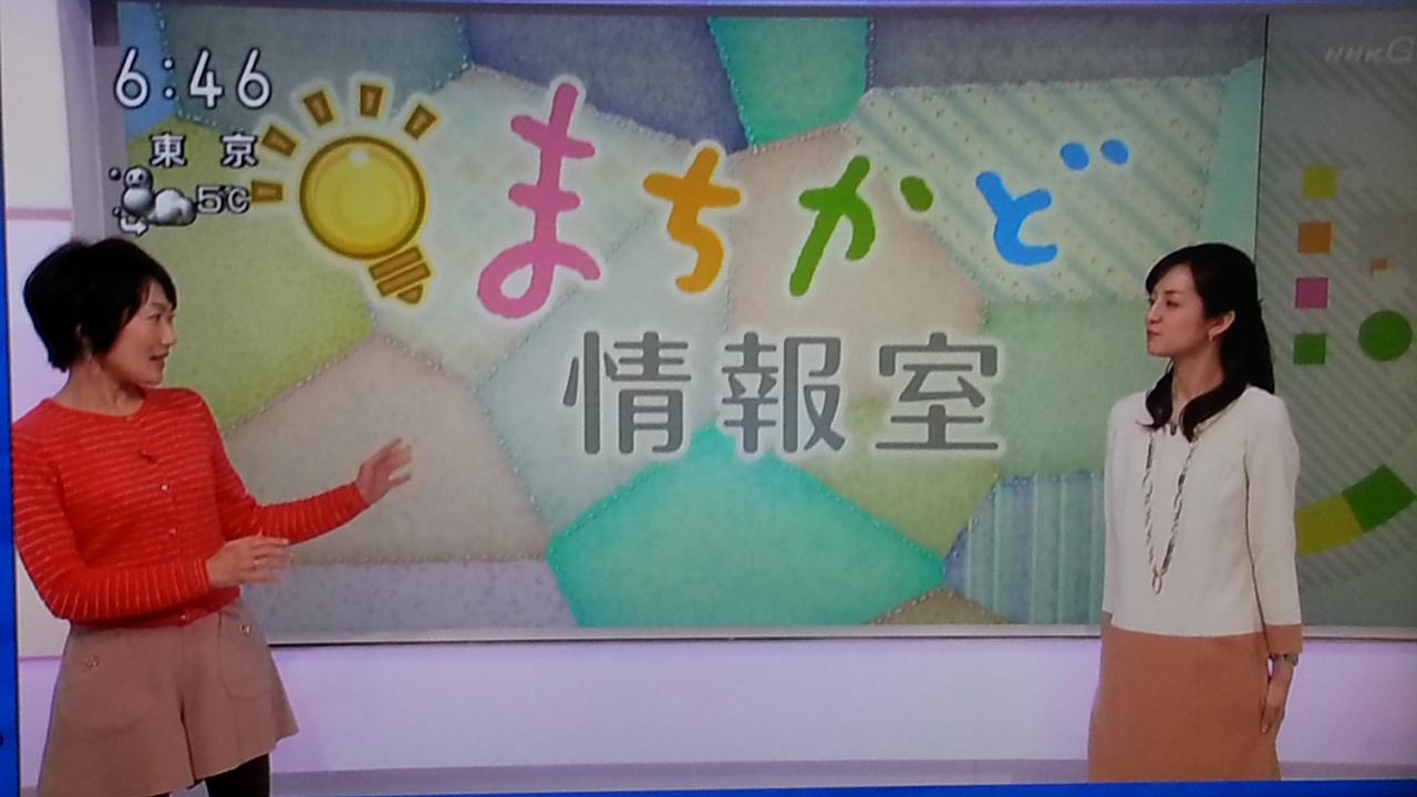 新手の漫才? NHKおはよう日本 まちかど情報室_b0042308_043319.jpg