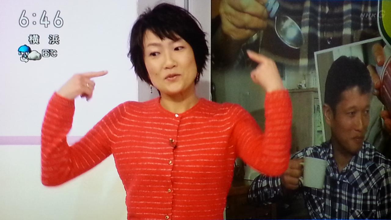 新手の漫才? NHKおはよう日本 まちかど情報室_b0042308_0471035.jpg