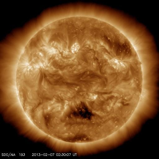 太陽からの「バレンタインデー・キッス」:ハート型のCME初お目見え!?_e0171614_21361067.jpg