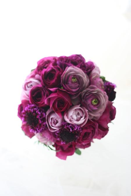 クラッチブーケ 紫 _a0042928_17208.jpg