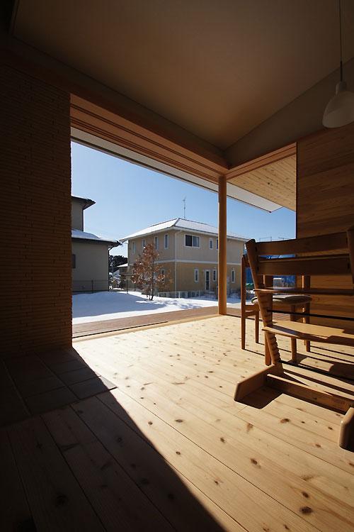 雪景色の竣工写真 〜昼間室内編_f0098628_19322889.jpg